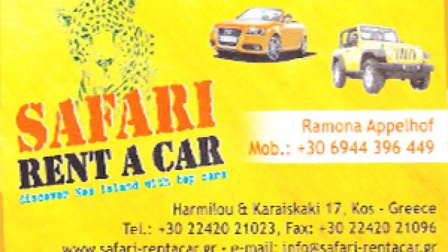 SAFARI RENT A CAR